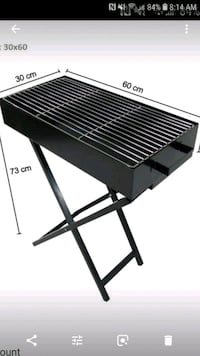BBQ Portable Charcoal Grill (Brand New) Dollard-des-Ormeaux, H9B 3E8