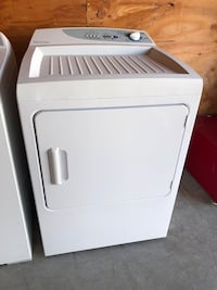 Dryer (electric) works great! Many to choose from with warranty