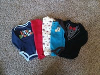 6-9mo long sleeved onsies Oshkosh, 54904