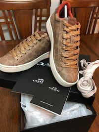 Brand new coach shoes . size 6 1/2B New Westminster, V3M