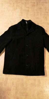 Black Adolfo Gold label black dress coat Hamilton, L8J 2E7