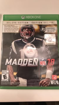 Madden 18, xbox 1, 20$ (negotiable) London, N6H 5T3