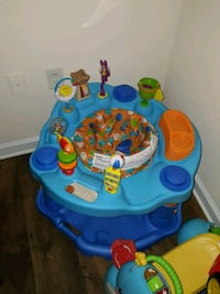 baby's blue and yellow activity center Ashburn, 20148