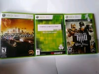 Xbox 360 games NFS Undercover, Marvel Ultimate Alliance Army of Two 2
