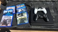 Sony PS4 console with controller and game cases Moriarty, 87035