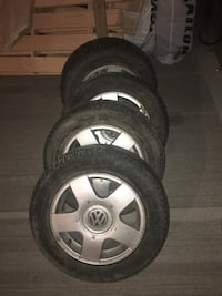 Volkswagen winter tires Calgary