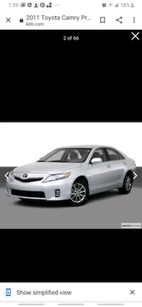 2011 Toyota Camry 2.5 Auto LE  New Orleans