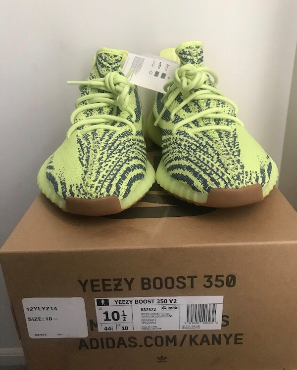 d1ec2af7d Used Adidas Yeezy Boost 350 v2 Semi Frozen Yellow (Size 10.5) for sale in Perth  Amboy