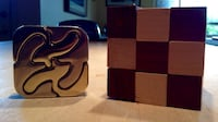 Metal & Wooden Puzzle - $5 for both Calgary, T3E 2S9