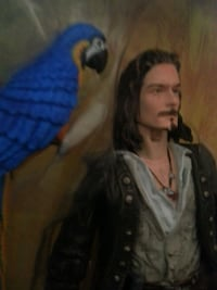 Pirates of the Caribbean will turner figurine