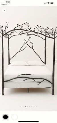 Queen Handmade Anthropologie Forest Bed