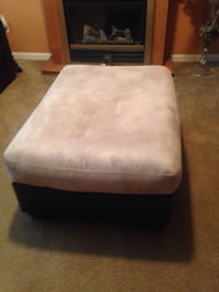 Brown and beige ottoman Charlotte, 28216