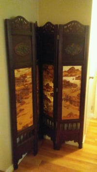 Asian. Antique style room divider