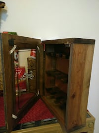 brown wooden cabinet with mirror Plainfield, 07063