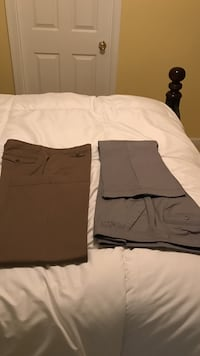 New.  Two pairs of brown and grey dress pants Vienna, 22182
