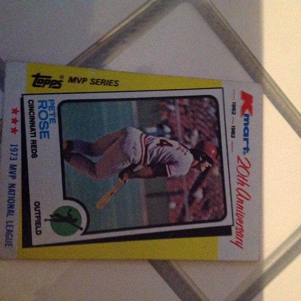 Kmart 20th Anniversary Pete Rose Baseball Trading Card