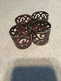 Metal napkin holder rings Orange Park, 32073