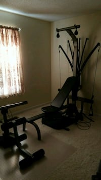 Bowflex full workout machine with rowing built in Clarksville, 37042