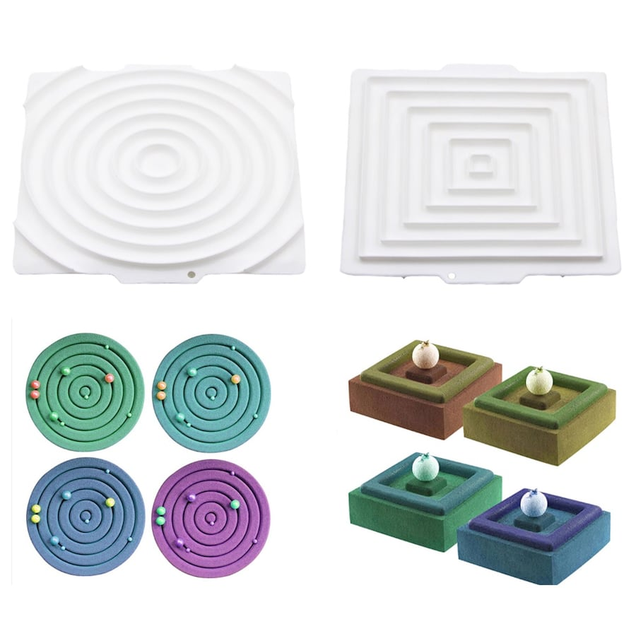 Cake Molds Pro Silicone + Silicone Mats, Brand New