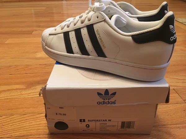 d2bed32a5644 Used Brand New Adidas Superstar Original Womens Size 9 for sale in Stone  Mountain - letgo