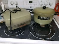 Electric deep fryer & skillet Surrey, V4N 0J9