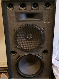 DJ speakers with 18inches speakers added