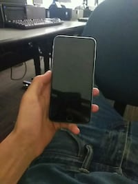 black iPhone s6 with case