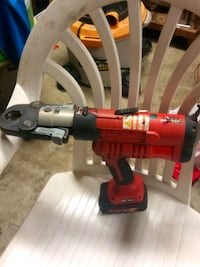 red and black Milwaukee cordless power drill Columbus, 43223