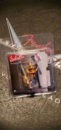 Schaller strap locks. New in package. Calgary, T2V 2L3