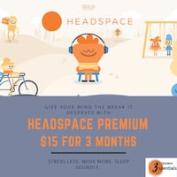 Headspace Premium for 3 Months! Mississauga