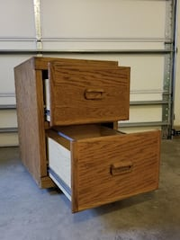 Two Door File Cabinet null