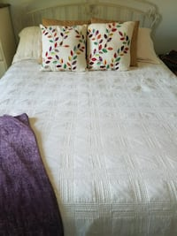 Bedspread and pillow shames only
