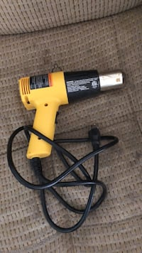 yellow and black corded power drill Yuma, 85364