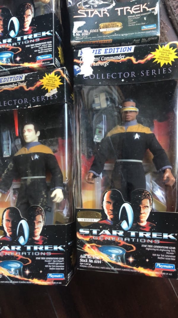 "Vintage Star Trek 9"" Collection addition figuring b8ce6f7b-79f5-4470-9221-905c0d5e4c1a"