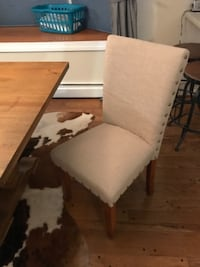 6 dining chairs in excellent condition  Washington