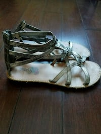 Girls size 4 Gladiator Sandals