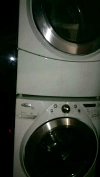 white front-load clothes washer Las Vegas, 89108