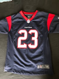 Authentic Texan Kids Foster#23 Jersey  Spring, 77386