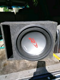 gray and black subwoofer speaker Los Angeles County, 91387