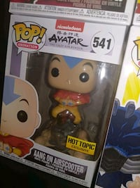 Aang On Airscooter Funko Pop Hot Topic Exclusive