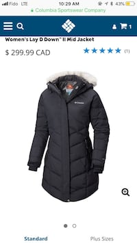 Columbia women jacket brand new with tags size large Omni heat and down technologies keeps you very warm Montréal, H2L 3V4