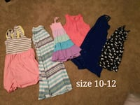 Girls lot of summer clothes. Size 10-12 London, N5Z 4Z1