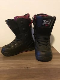 Women Size 8 Ride Orion Snowboard Boots
