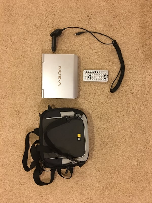 Coby portable DVD player 2