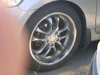4 tires and rims 225/45/18 Toronto, M1V 4A7
