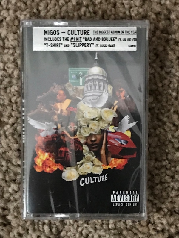 MIGOS CULTURE EXCLUSIVE CASSETTE TAPE RARE NEW