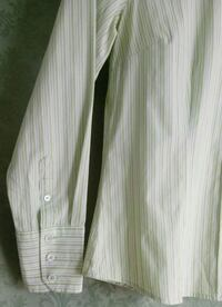 white and gray striped button-up shirt Rockville, 20850