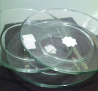 Glass plate . new Silver Spring