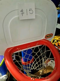 basketball hoop with base