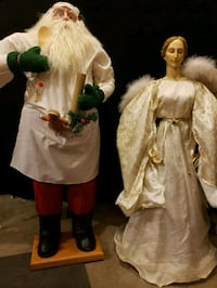 VINTAGE Santa Claus and an Angel Loveland, 80537